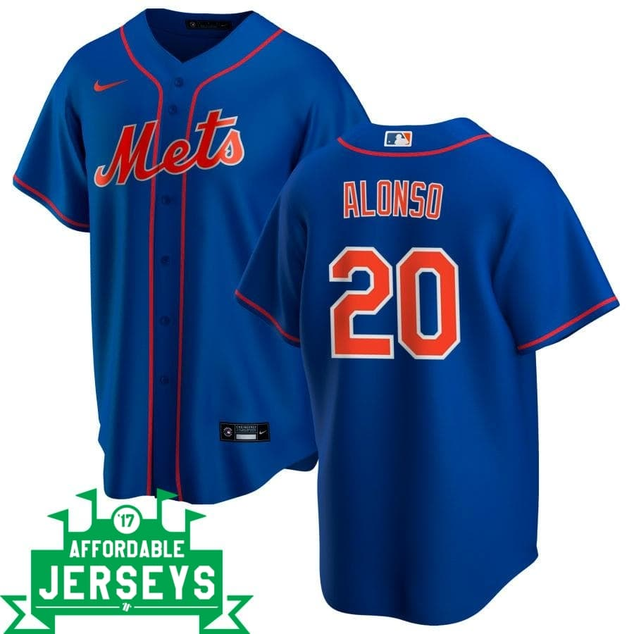 Pete Alonso Alternate Nike Replica Player Jersey - AffordableJerseys.com