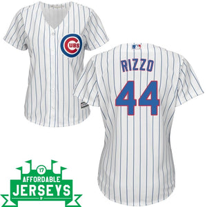 Anthony Rizzo Home Women's Cool Base Player Jersey - AffordableJerseys.com