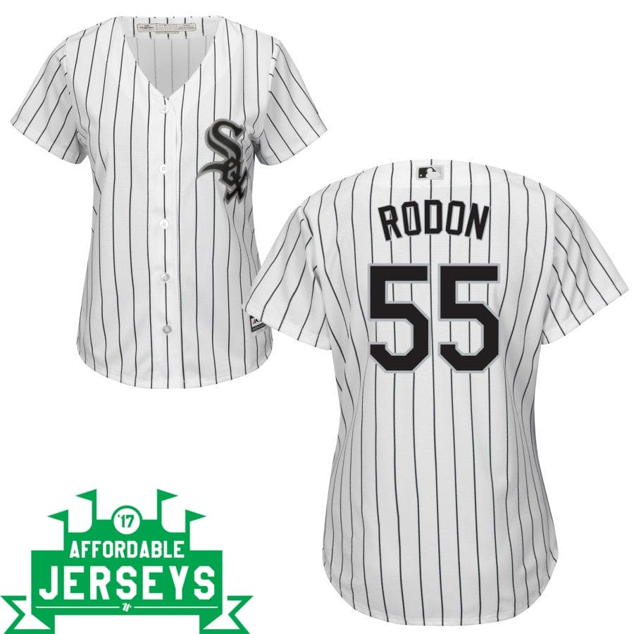 Carlos Rodon Home Women's Cool Base Player Jersey - AffordableJerseys.com