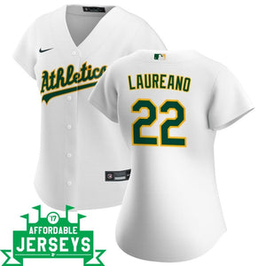 Ramon Laureano Home Women's Nike Replica Player Jersey - AffordableJerseys.com
