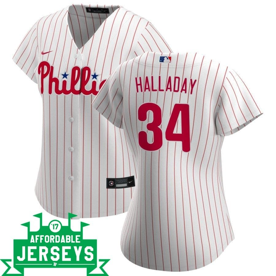 Roy Halladay Home Women's Nike Replica Player Jersey - AffordableJerseys.com