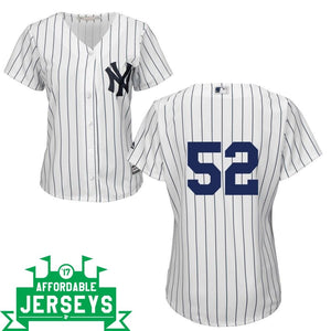 CC Sabathia Home Women's Cool Base Player Jersey