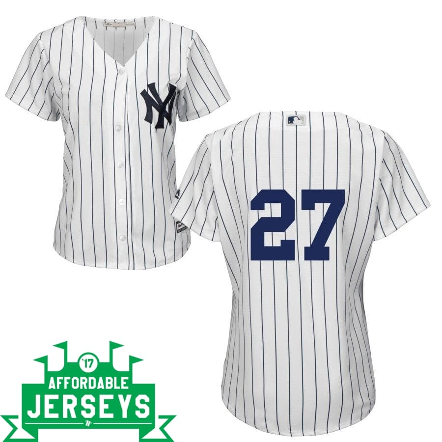Giancarlo Stanton Home Women's Cool Base Player Jersey - AffordableJerseys.com