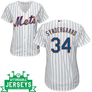 Noah Syndergaard Home Women's Cool Base Player Jersey
