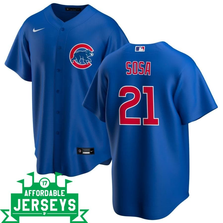 Sammy Sosa Alternate Nike Replica Player Jersey - AffordableJerseys.com