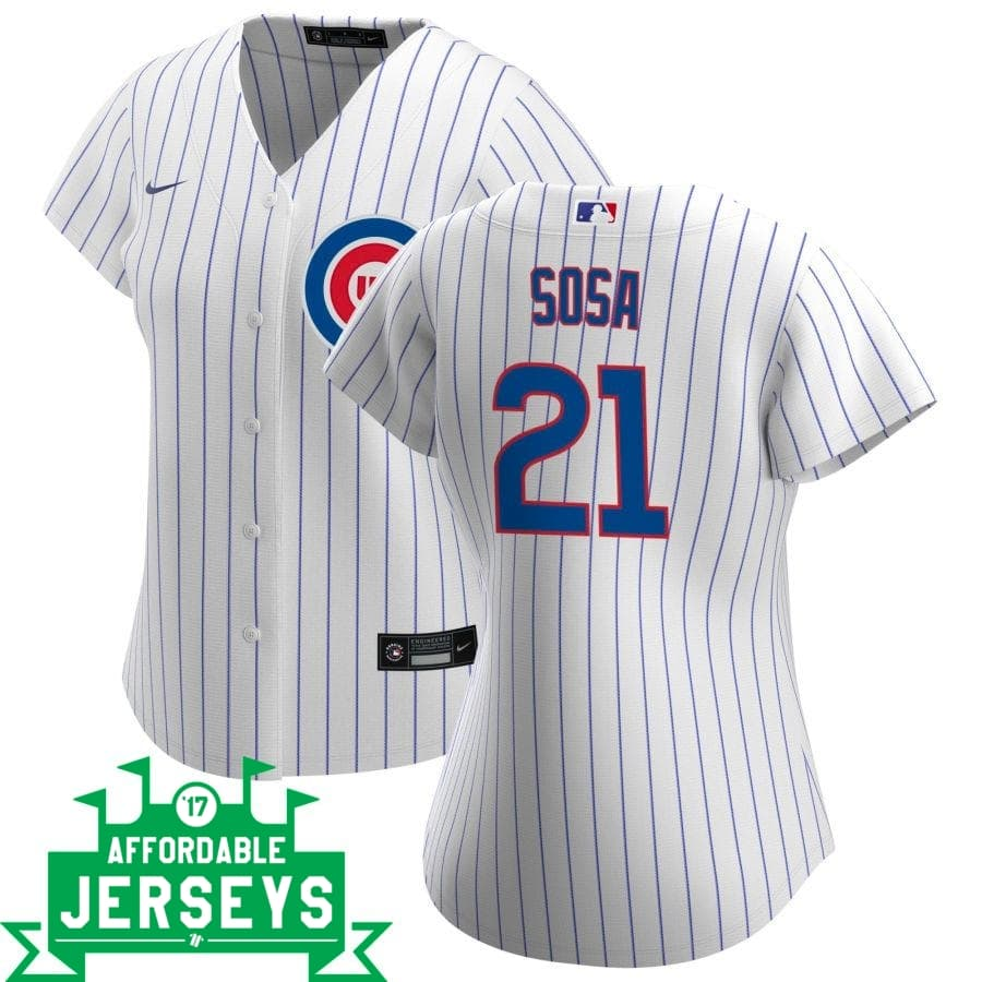 Sammy Sosa Home Women's Nike Replica Player Jersey - AffordableJerseys.com
