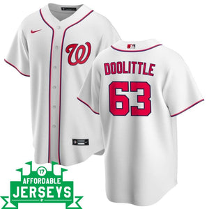 Sean Doolittle Home Nike Replica Player Jersey - AffordableJerseys.com
