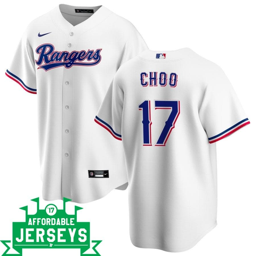 Shin-Soo Choo Home Nike Replica Player Jersey - AffordableJerseys.com