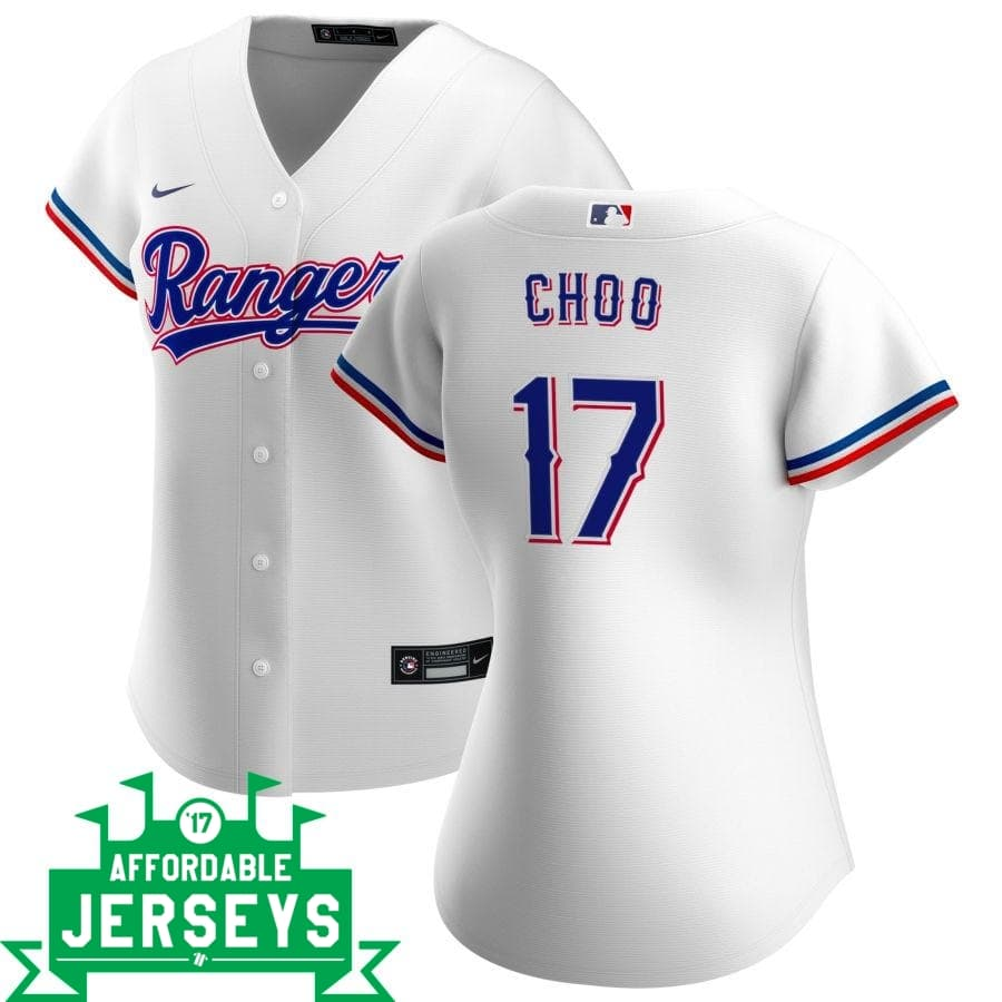 Shin-Soo Choo Home Women's Nike Replica Player Jersey - AffordableJerseys.com