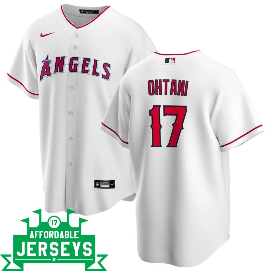 Shohei Ohtani Home Nike Replica Player Jersey - AffordableJerseys.com