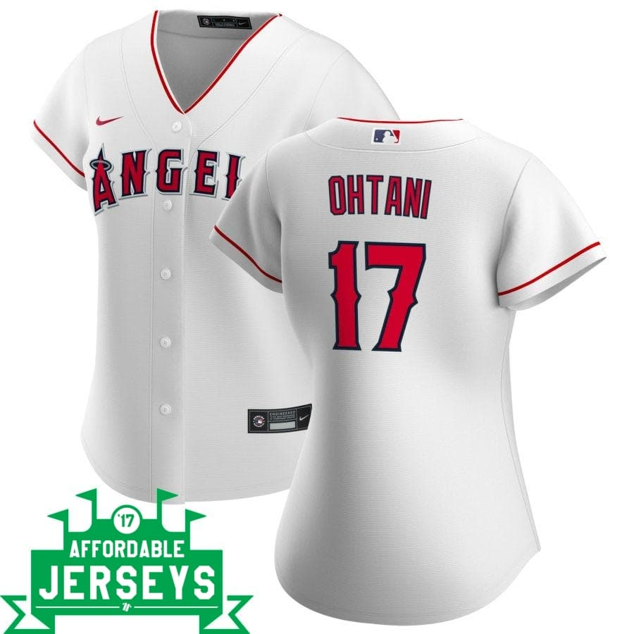 Shohei Ohtani Home Women's Nike Replica Player Jersey - AffordableJerseys.com