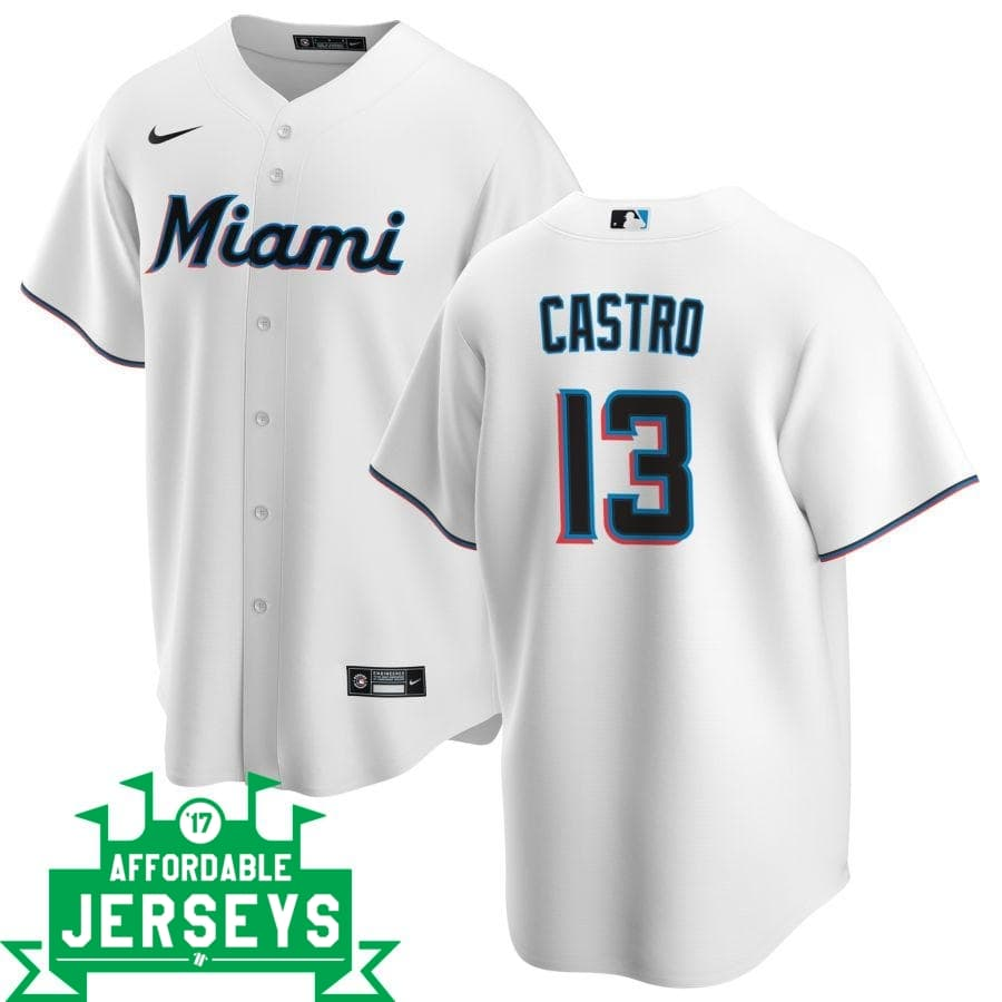 Starlin Castro Home Nike Replica Player Jersey