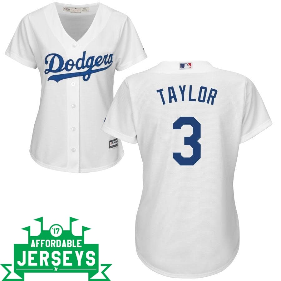 Chris Taylor Home Women's Cool Base Player Jersey - AffordableJerseys.com