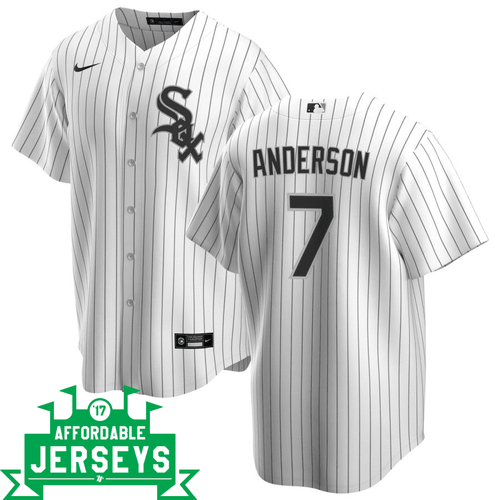 Tim Anderson Home Nike Replica Player Jersey - AffordableJerseys.com