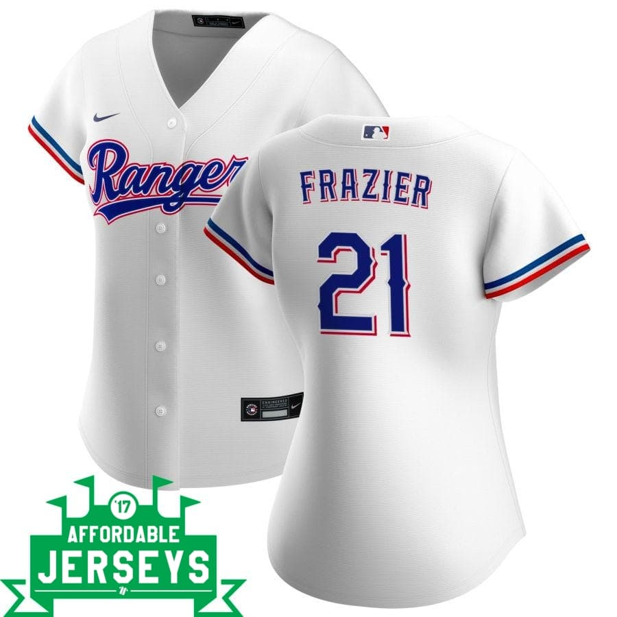 Todd Frazier Home Women's Nike Replica Player Jersey - AffordableJerseys.com