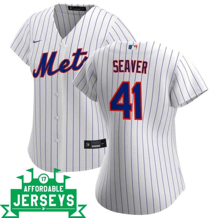 Tom Seaver Home Women's Nike Replica Player Jersey - AffordableJerseys.com