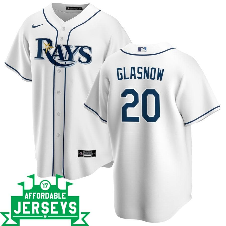 Tyler Glasnow Home Nike Replica Player Jersey - AffordableJerseys.com