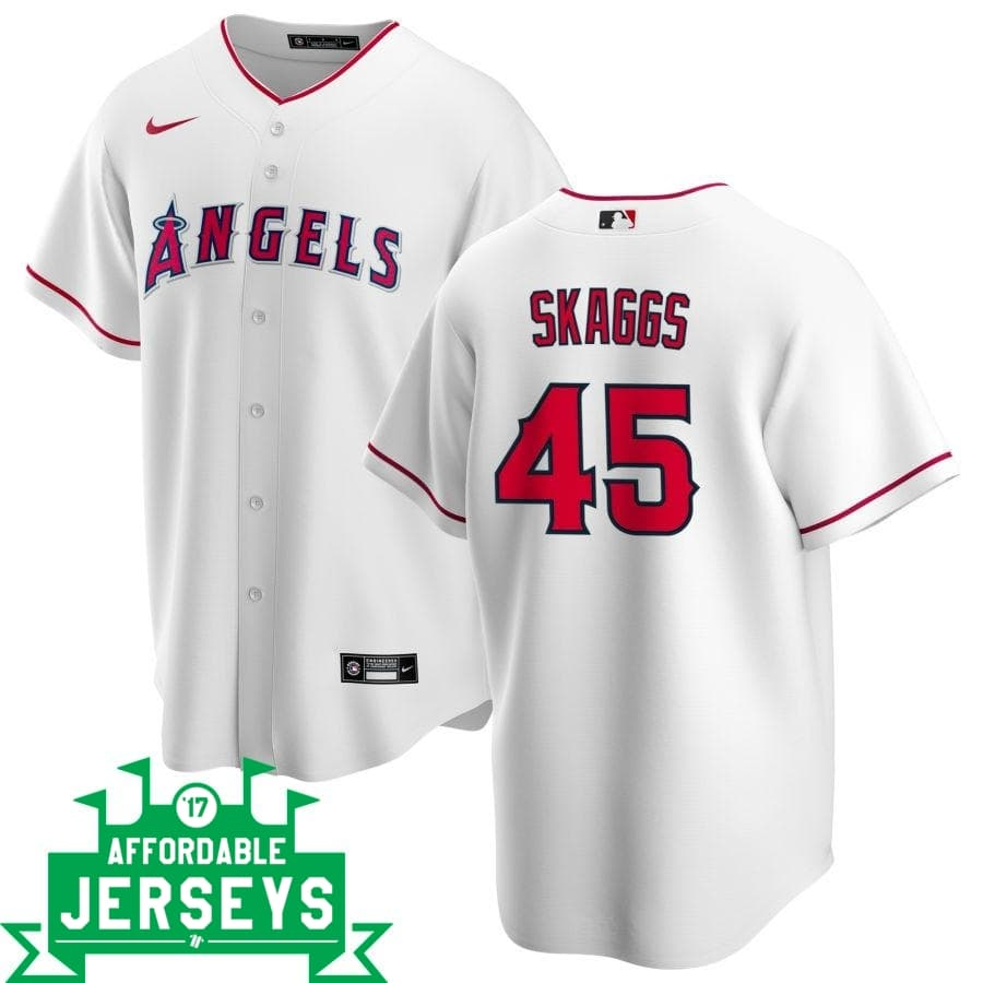 Tyler Skaggs Home Nike Replica Player Jersey - AffordableJerseys.com