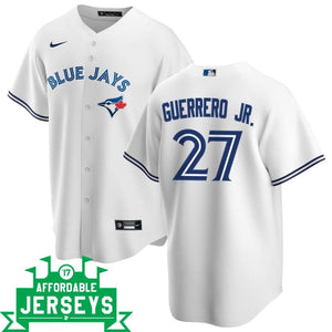 Vladimir Guerrero Jr. Home Nike Replica Player Jersey - AffordableJerseys.com