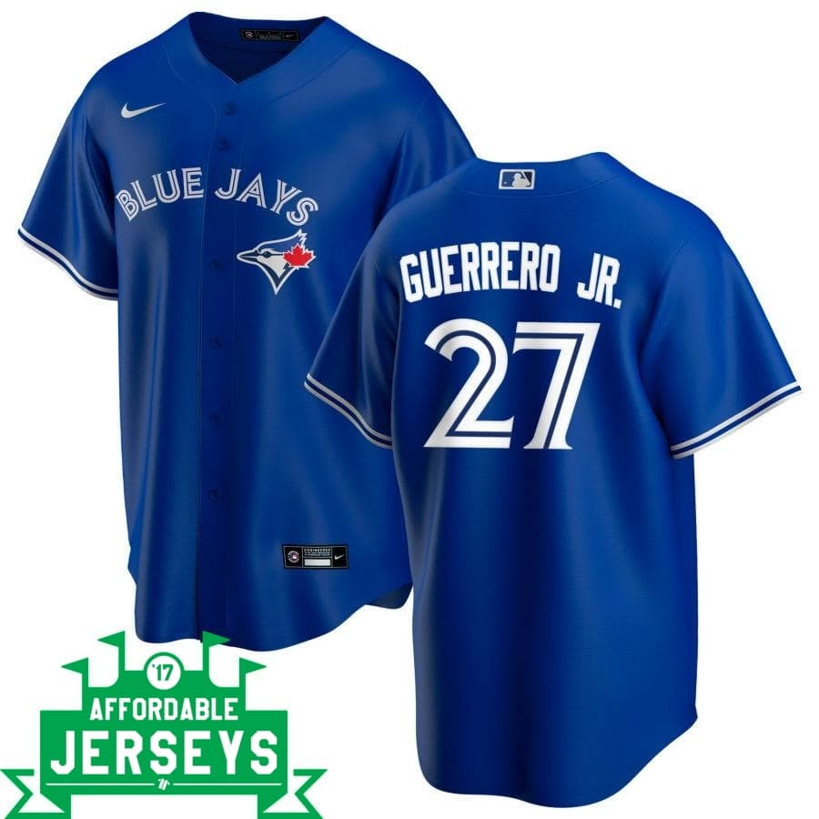 Vladimir Guerrero Jr. Alternate Nike Replica Player Jersey - AffordableJerseys.com
