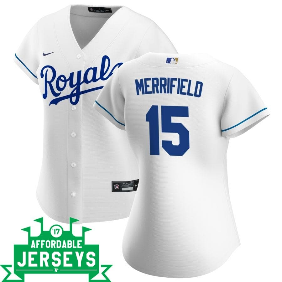 Whit Merrifield Home Women's Nike Replica Player Jersey - AffordableJerseys.com