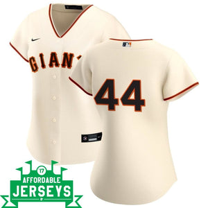Willie McCovey Home Women's Nike Replica Player Jersey - AffordableJerseys.com