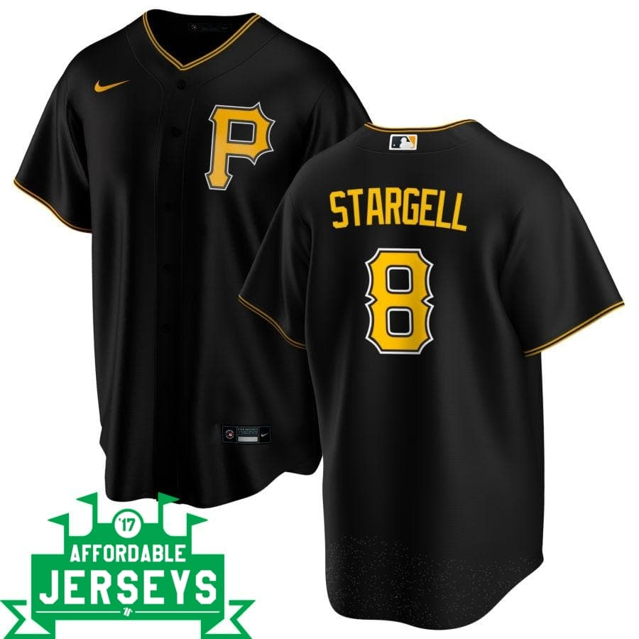 Willie Stargell Alternate Nike Replica Player Jersey - AffordableJerseys.com