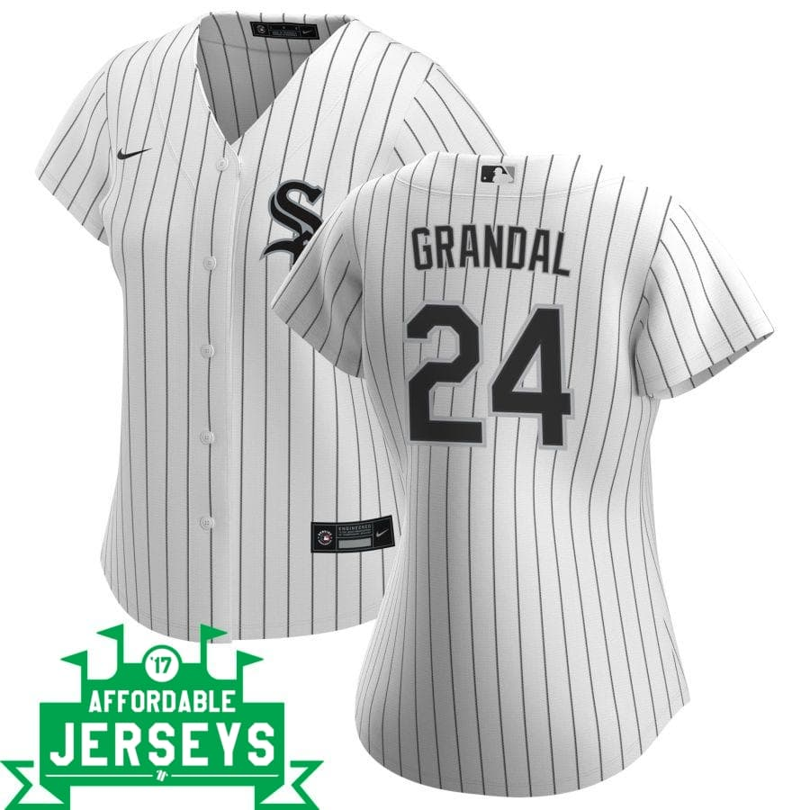 Yasmani Grandal Home Women's Nike Replica Player Jersey - AffordableJerseys.com