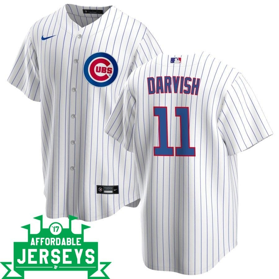 Yu Darvish Home Nike Replica Player Jersey - AffordableJerseys.com
