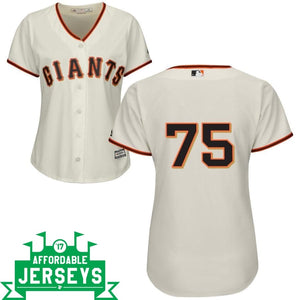 Barry Zito Home Women's Cool Base Player Jersey