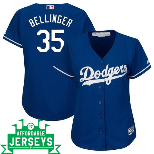 Cody Bellinger Alternate Women's Cool Base Player Jersey