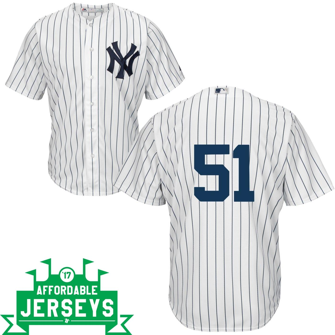 Bernie Williams Home Cool Base Player Jersey