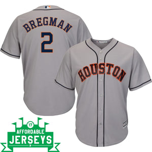 Alex Bregman Road Cool Base Player Jersey
