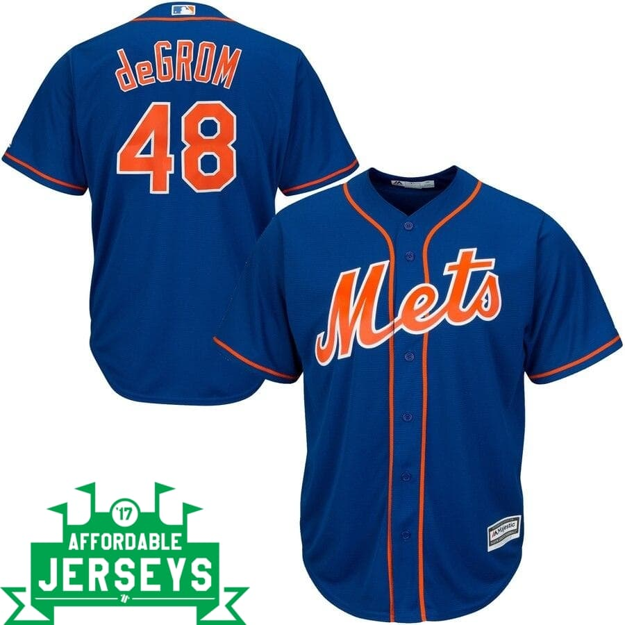 Jacob deGrom Alternate Cool Base Player Jersey - AffordableJerseys.com