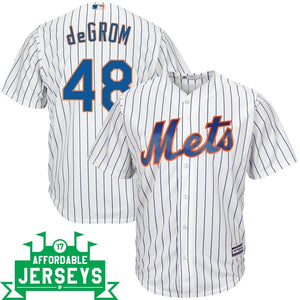 Jacob deGrom Home Cool Base Player Jersey