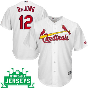 Paul DeJong Home Cool Base Player Jersey - AffordableJerseys.com