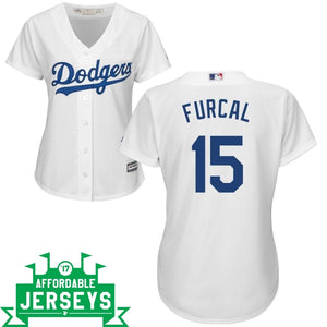 Rafael Furcal Home Women's Cool Base Player Jersey