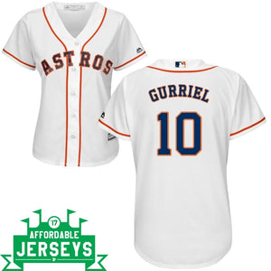 Yuli Gurriel Home Women's Cool Base Player Jersey