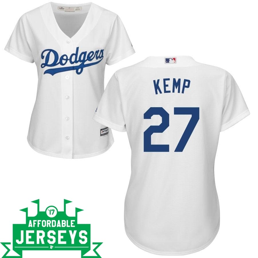 Matt Kemp Home Women's Cool Base Player Jersey