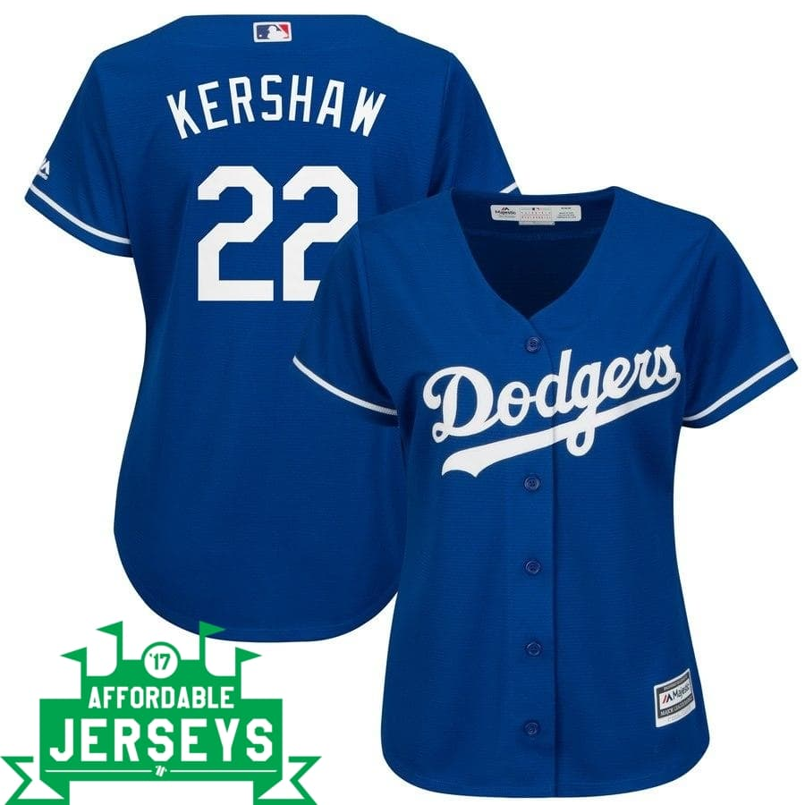 Clayton Kershaw Alternate Women's Cool Base Player Jersey