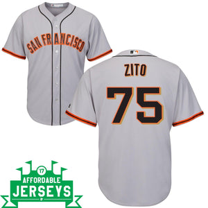 Barry Zito Road Cool Base Player Jersey - AffordableJerseys.com
