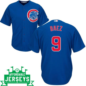 Javier Baez Road Cool Base Player Jersey - AffordableJerseys.com
