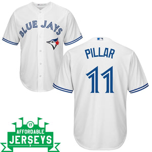 Kevin Pillar Home Cool Base Player Jersey
