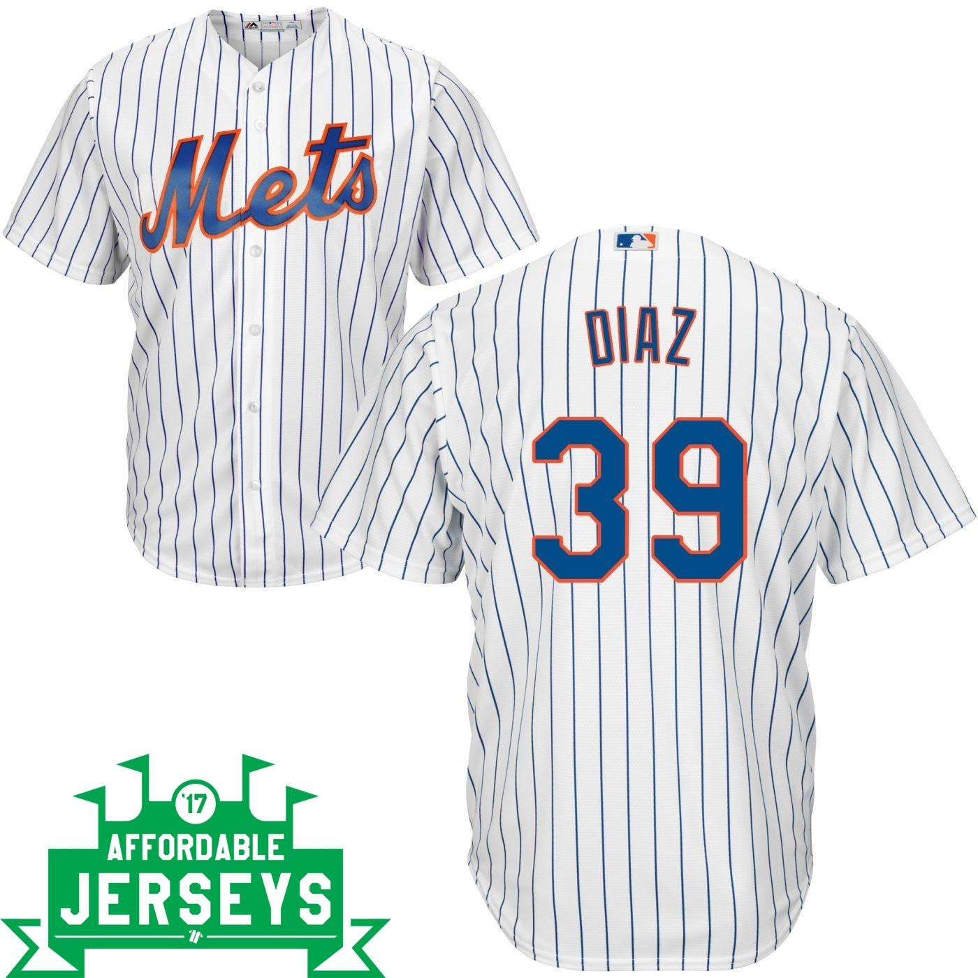 Edwin Diaz Home Cool Base Player Jersey - AffordableJerseys.com