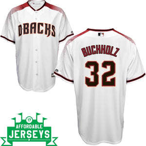 Clay Buchholz Home Cool Base Player Jersey