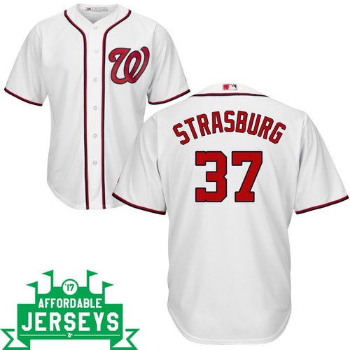 Stephen Strasburg Home Cool Base Player Jersey - AffordableJerseys.com