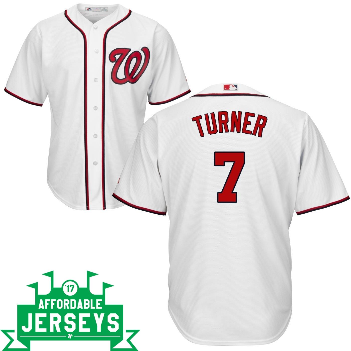 Trea Turner Home Cool Base Player Jersey