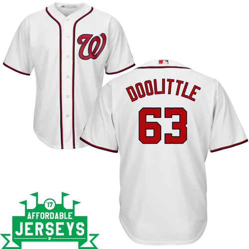 Sean Doolittle Home Cool Base Player Jersey - AffordableJerseys.com