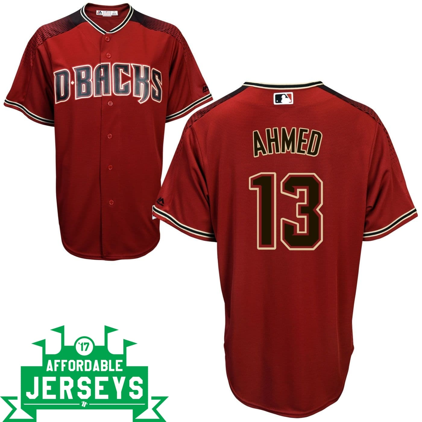 Nick Ahmed Road Cool Base Player Jersey