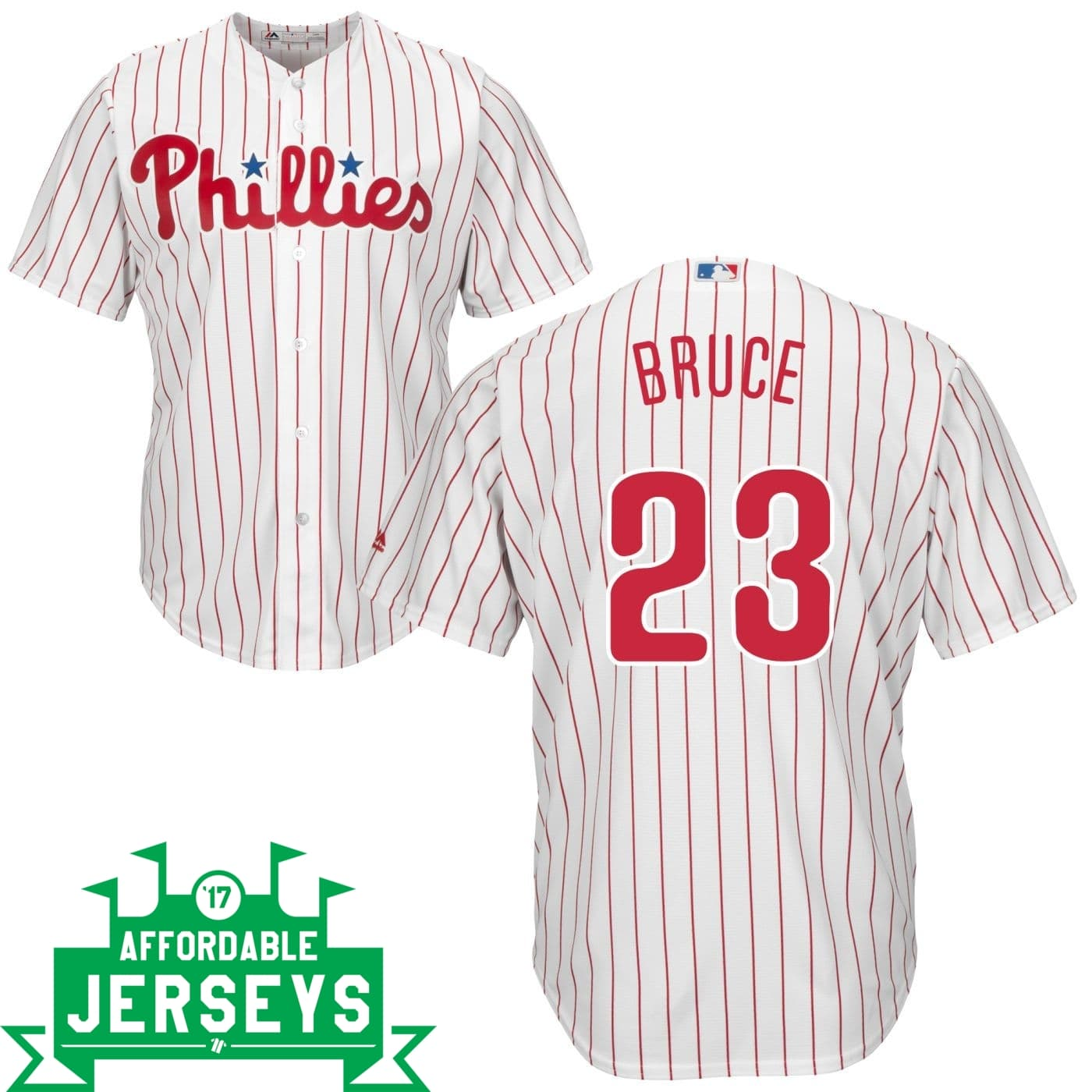 Jay Bruce Home Cool Base Player Jersey